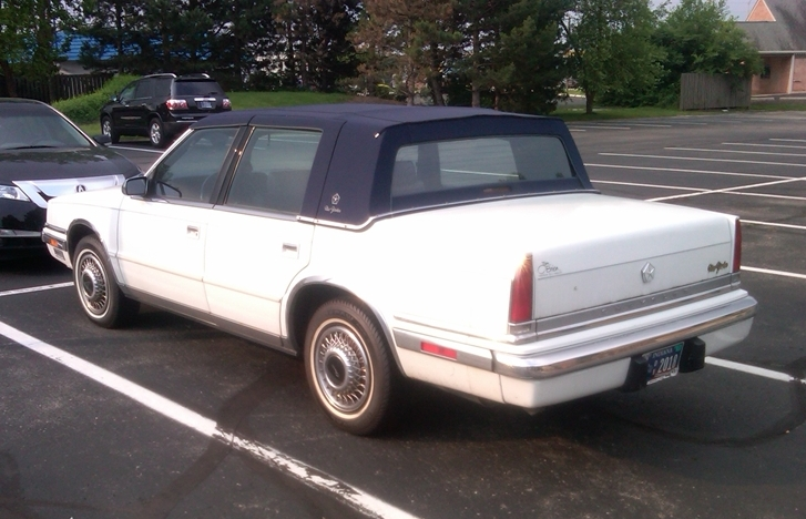 Curbside Classic 1991 Chrysler New Yorker Paging Bill Blass