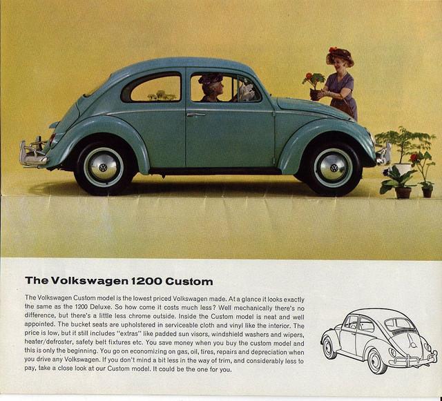 Coal 1962 Volkswagen Beetle Canadian Standard Another