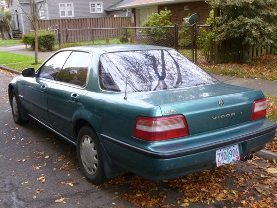 The Vigor Was Closely Related To V6 Engined Legend Gen 2 And Third Generation Of In Japan Developed Largely Sell Honda Verno