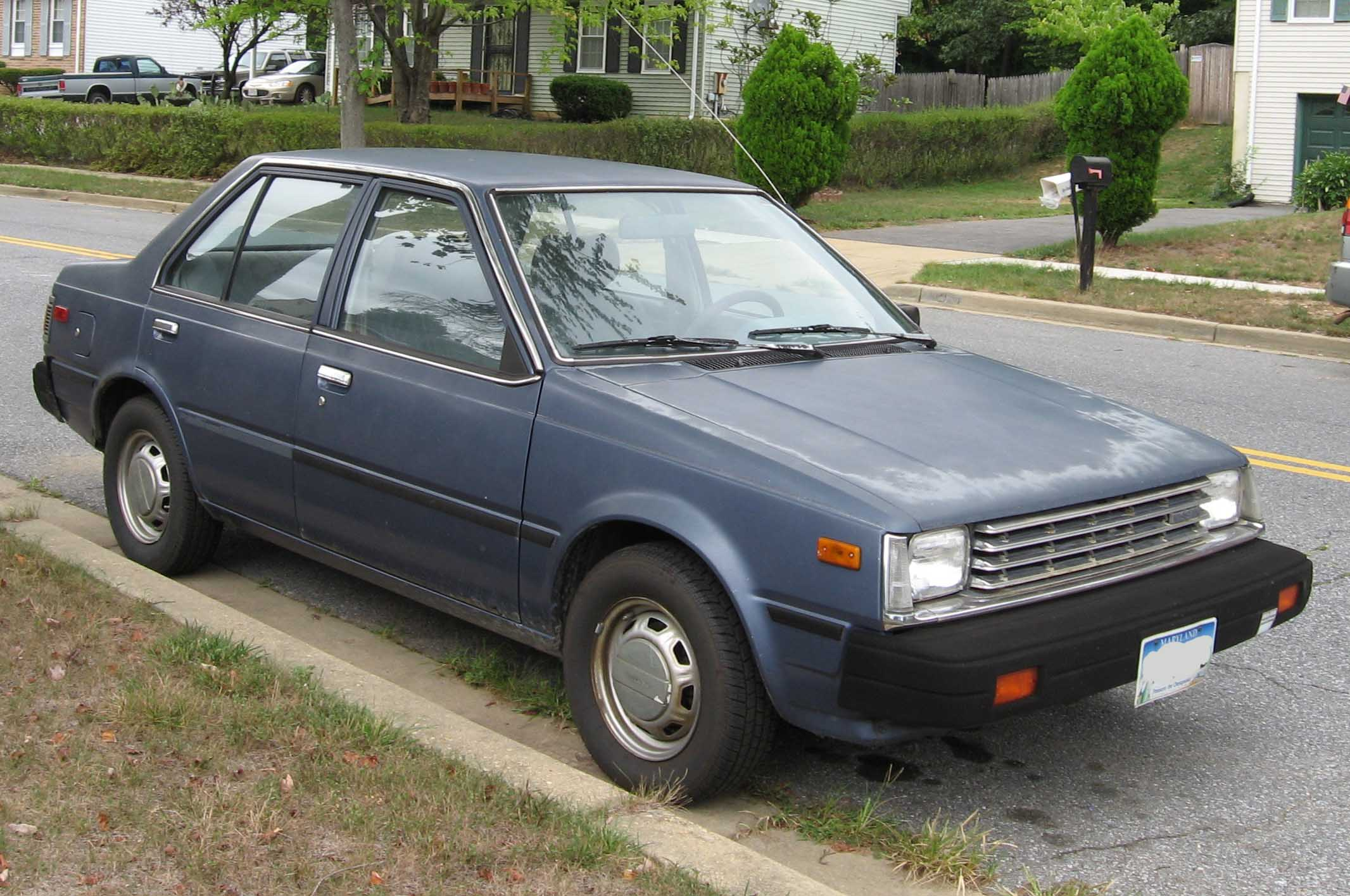 Curbside Classic: 1983-86 Nissan Pulsar NX: Staying Sharp in the ...