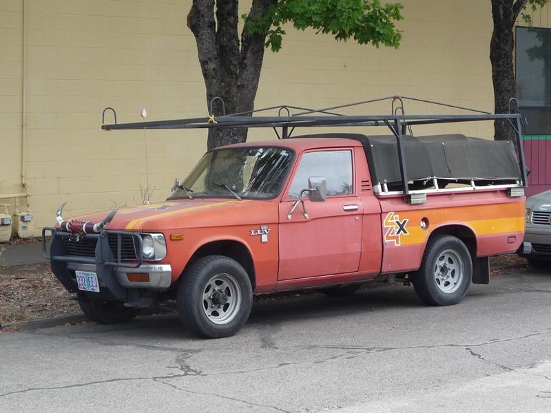 Curbside Classic: 1979 Chevy LUV 4×4 (Isuzu Faster) – Tough Love