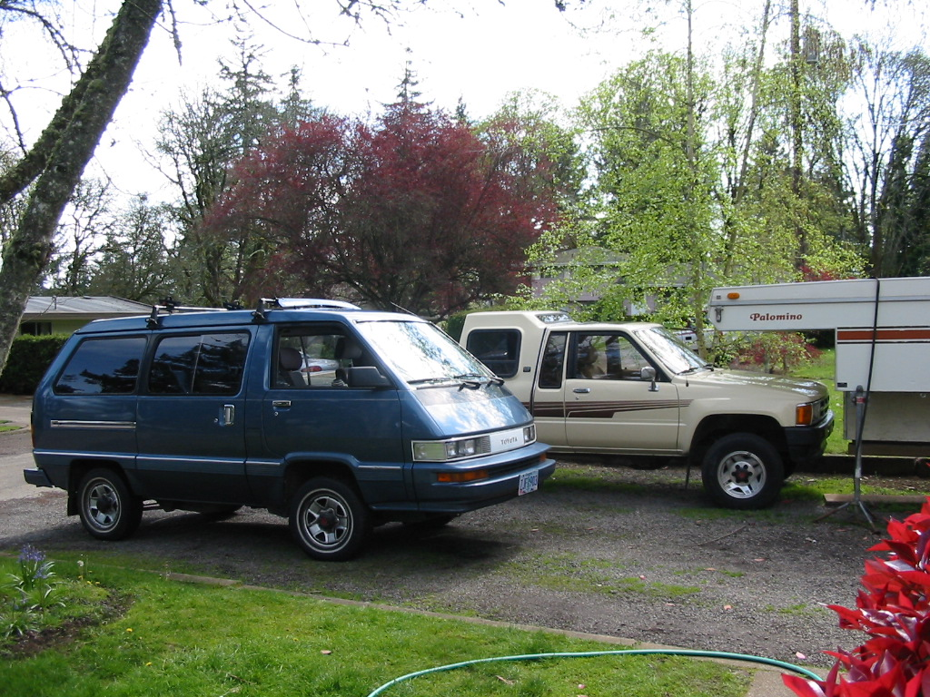 Cars Of A Lifetime 1987 Toyota 4 4 Van You Just Can T Kill It No