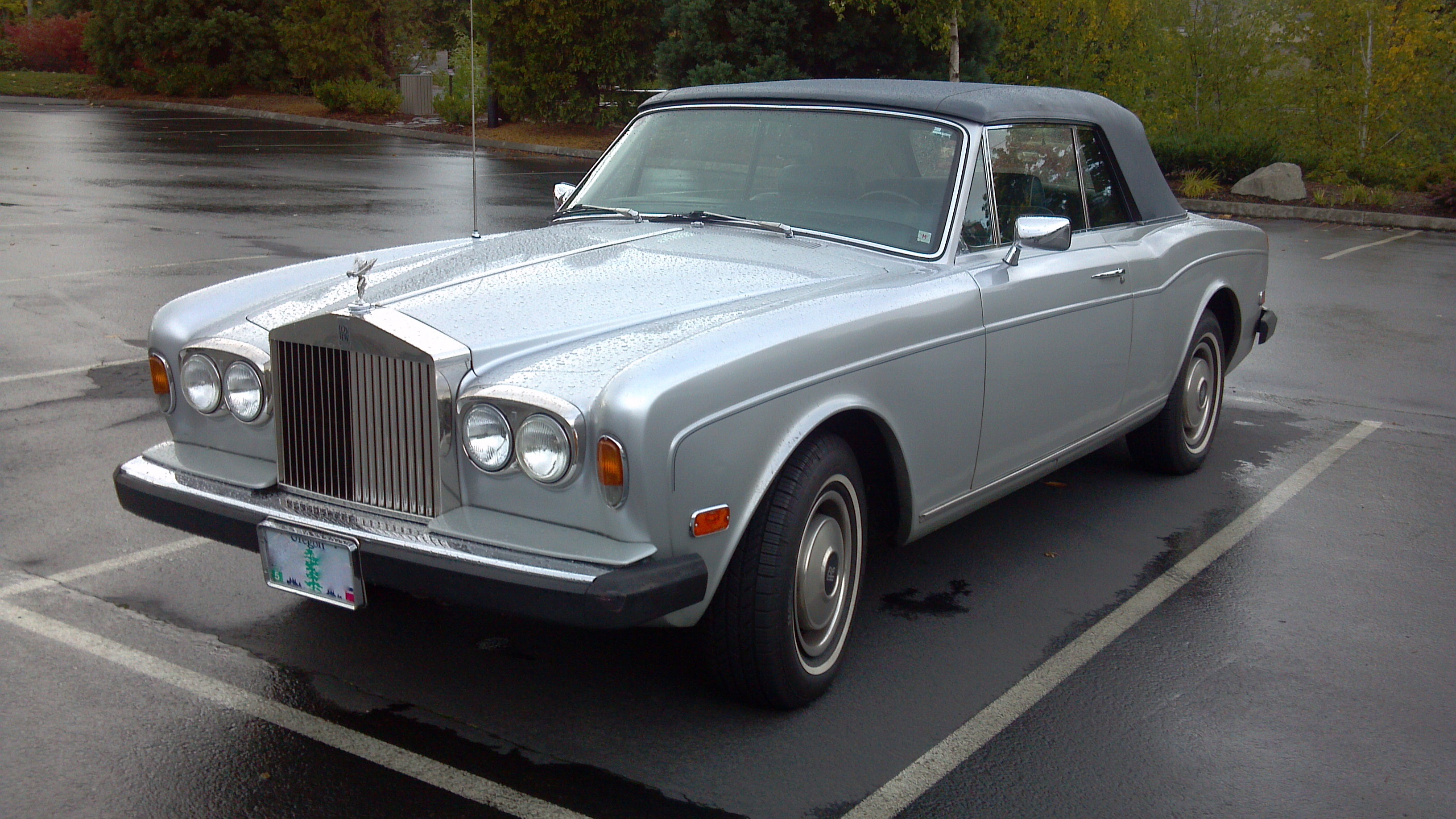 Curbside Classic: 1982 Rolls-Royce Corniche Convertible – The ...