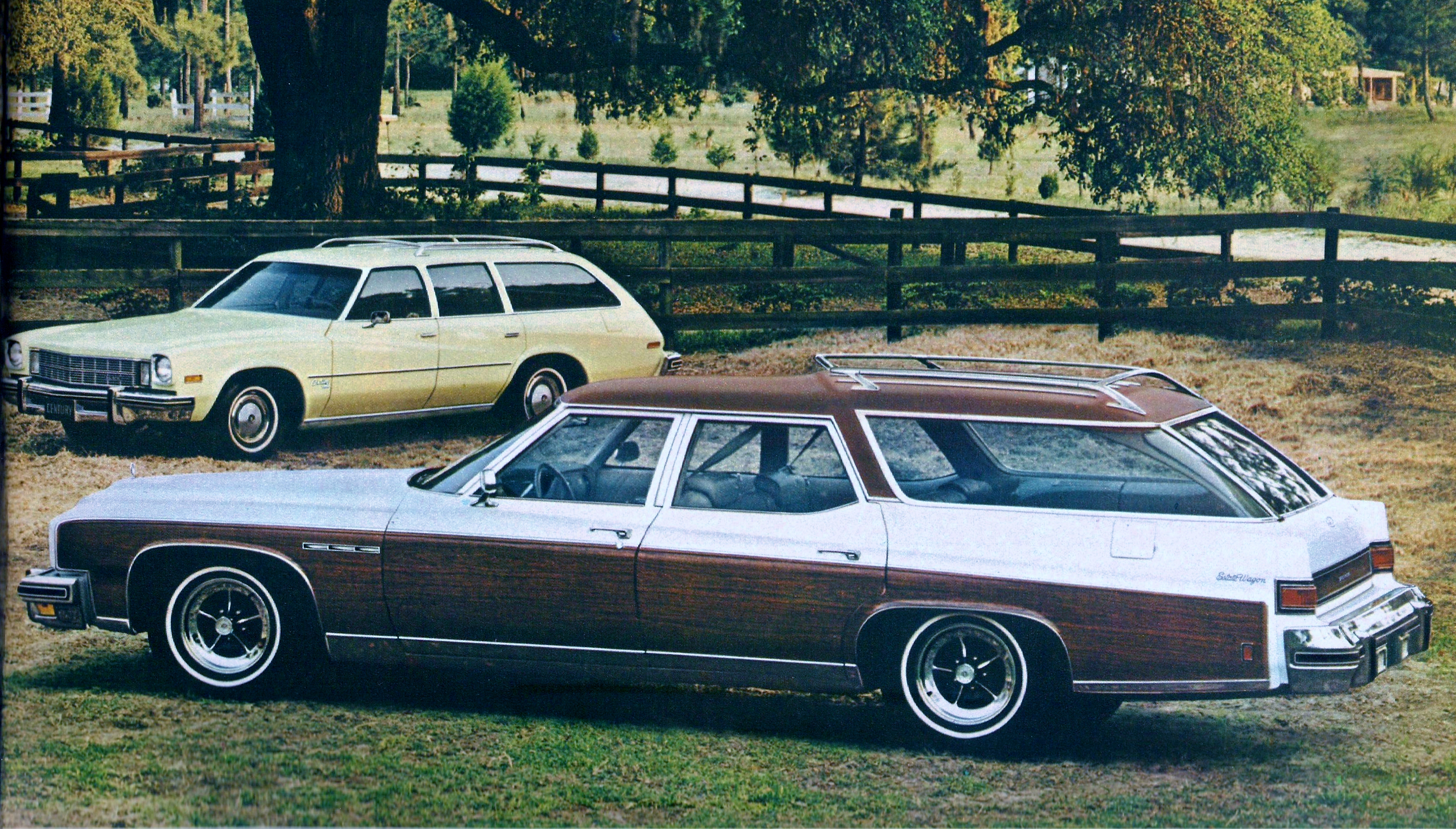Curbside Classic 1974 Buick Estate Wagon Hold The Fake Wood Please