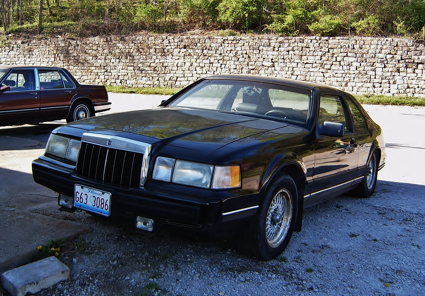 Curbside classic 1990 lincoln mark vii lsc special edition not your uncle max s mark