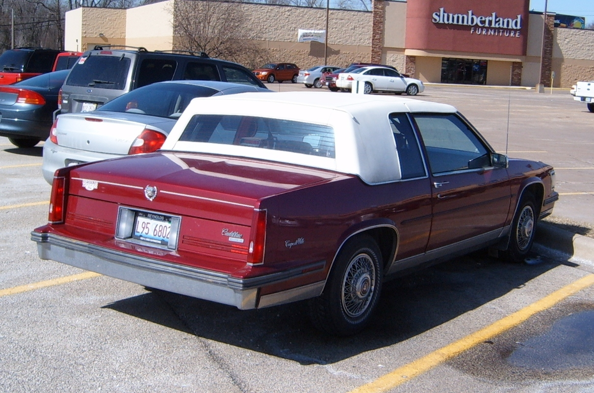 Curbside Classic 1988 Cadillac Coupe de Ville \u2013 How Not To Downsize A Luxury Car & Curbside Classic: 1988 Cadillac Coupe de Ville \u2013 How Not To Downsize ...