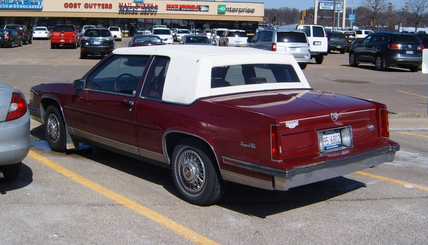 1985 Cadillac Fleetwood Fuse Box