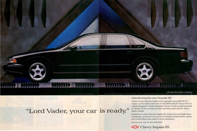 Chevrolet Impala Ss Ad
