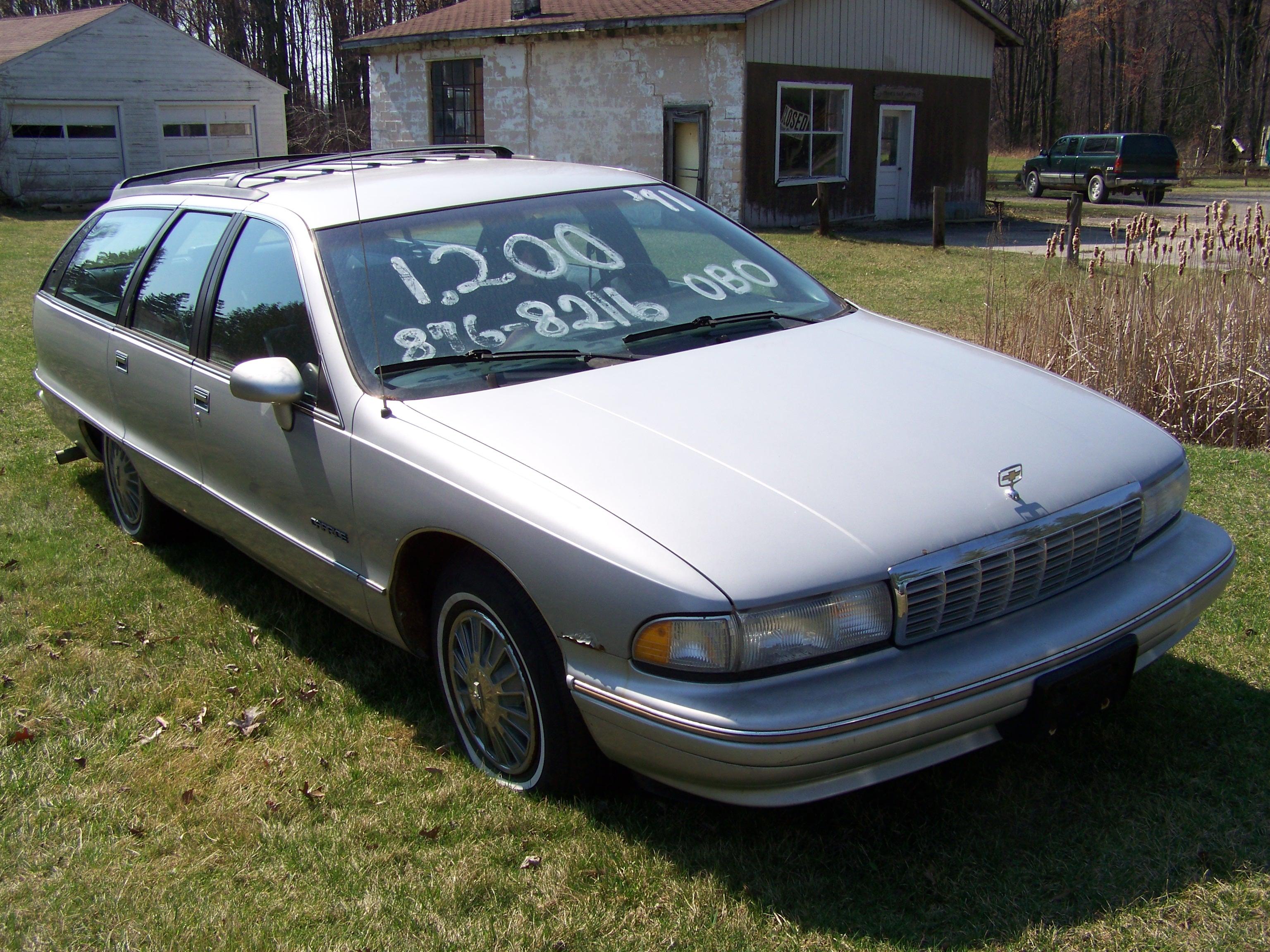 CC Capsule: 1991 Chevrolet Caprice Wagon – It's Totally