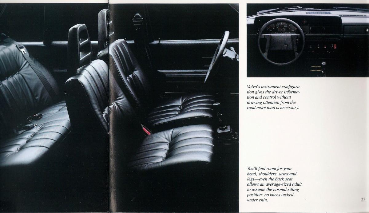 curbside classic 1984 volvo 240gl sensible luxury rh curbsideclassic com Volvo 240 Seat Cushion Foam Volvo 240 Seat Cushion Foam