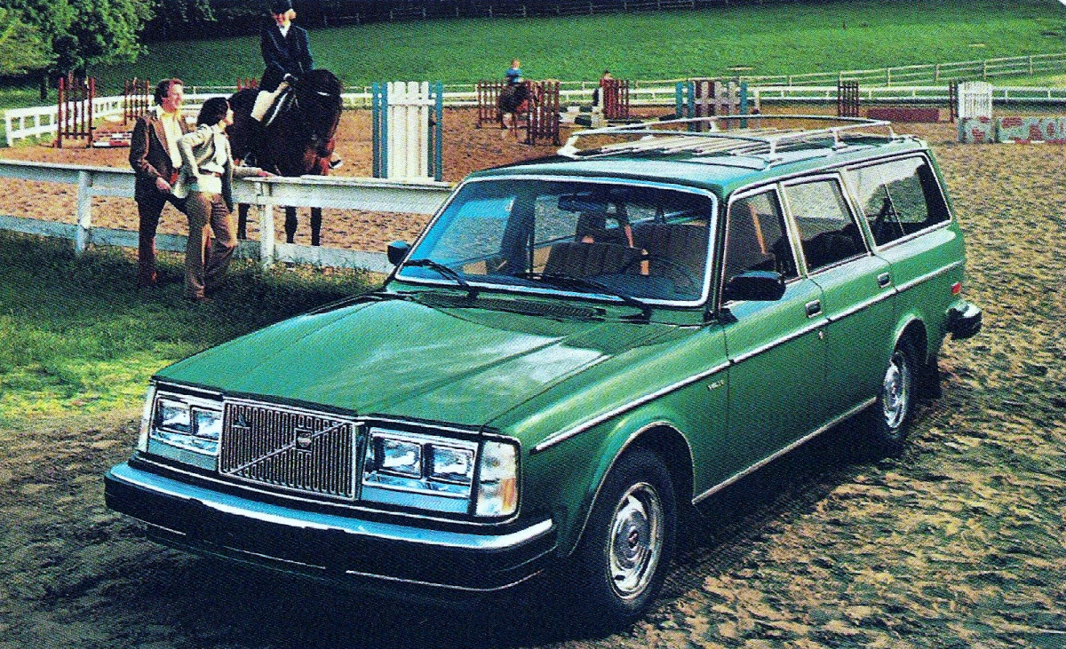 Curbside Classic 1984 Volvo 240gl Sensible Luxury