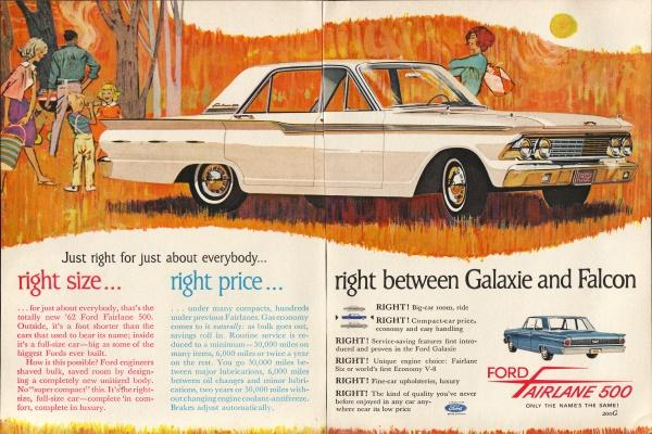 Curbside Classic Auto Biography 1962 Ford Fairlane Sometimes It