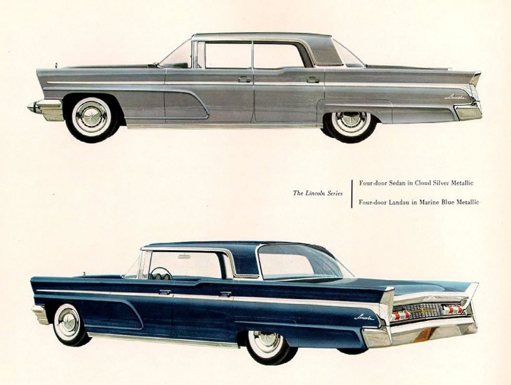 curbside classic 1960 lincoln sedan trying to out cadillac cadillac. Black Bedroom Furniture Sets. Home Design Ideas