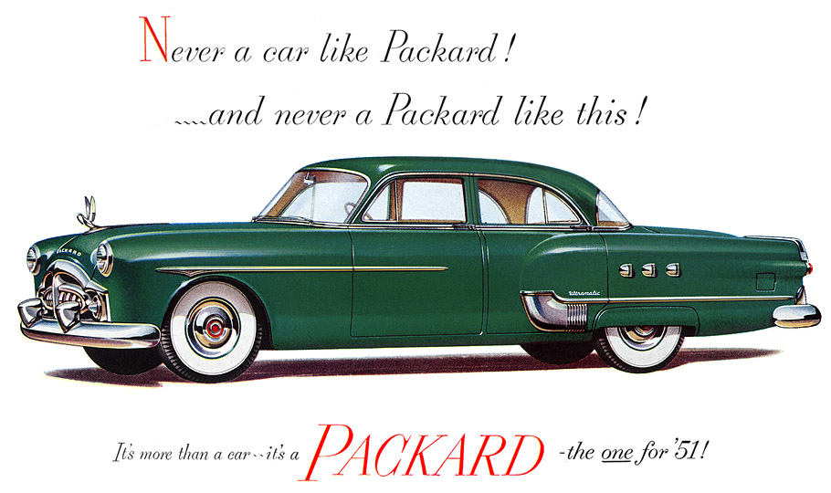 however brought the of a whole new body to packard by packard was reentering the luxury car market with the patrician series and