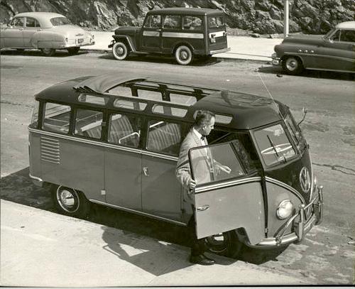 Curbside Classic 1965 Vw Deluxe Micro Bus Samba Tinnibus