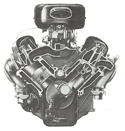"""The Chevrolet """"W"""" 348 (and 409) Engine – First Of A Long"""