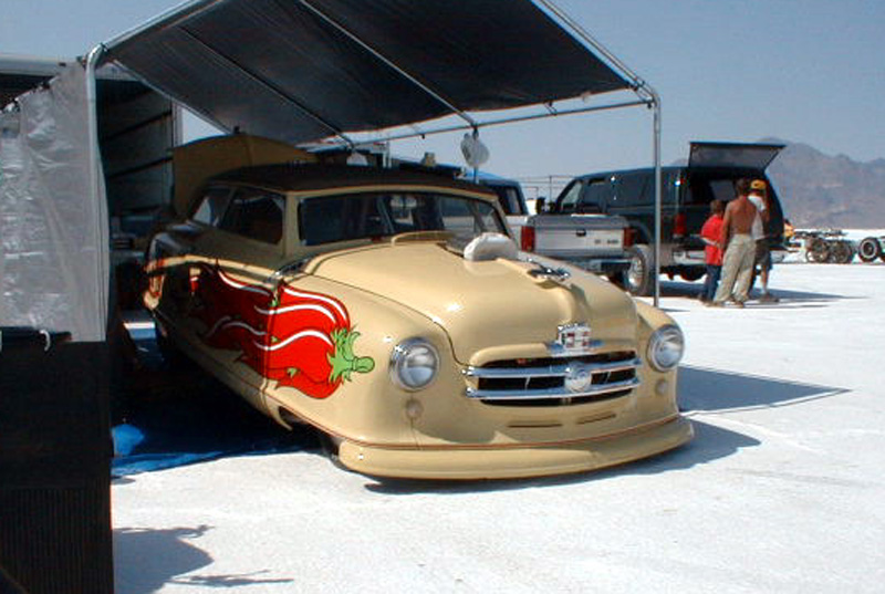 Image result for nash car with chile peppers painted