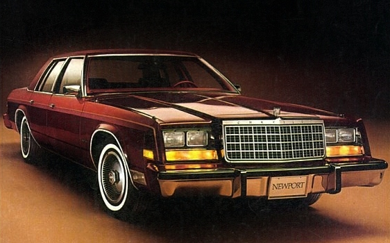Curbside Classic 1979 Chrysler Newport B Plus C Equals R