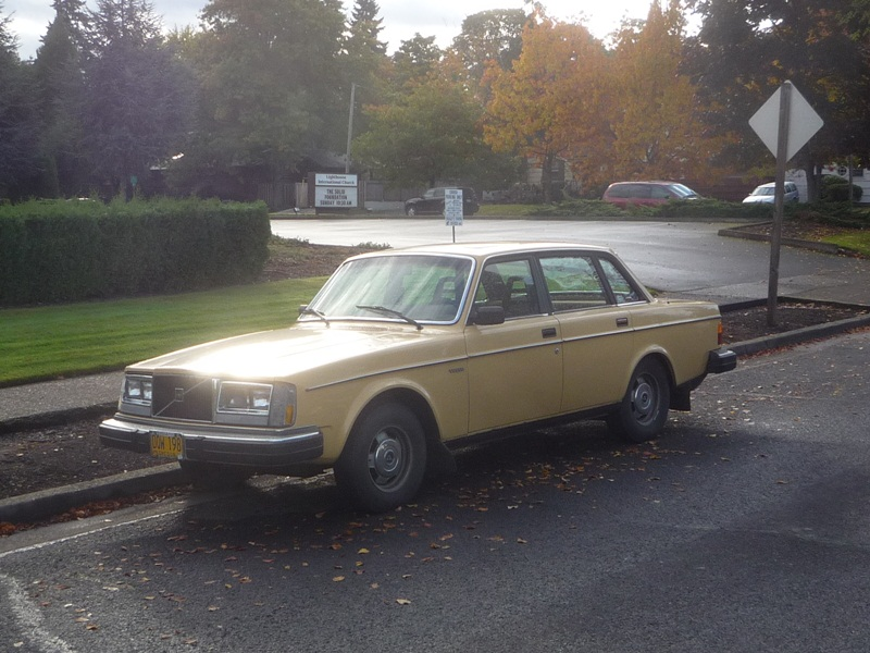 Curbside Clic: 1982 Volvo 244DL – Best Value Box