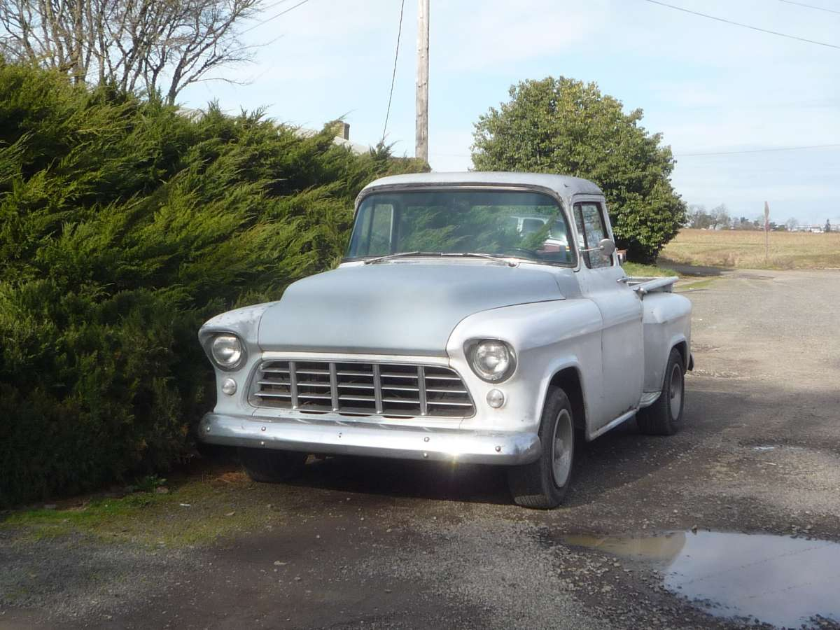 Cc Capsule 1956 Gmc Pickup Dont Judge A By Its Grille Old Chevy Truck Tailgates The New 1955