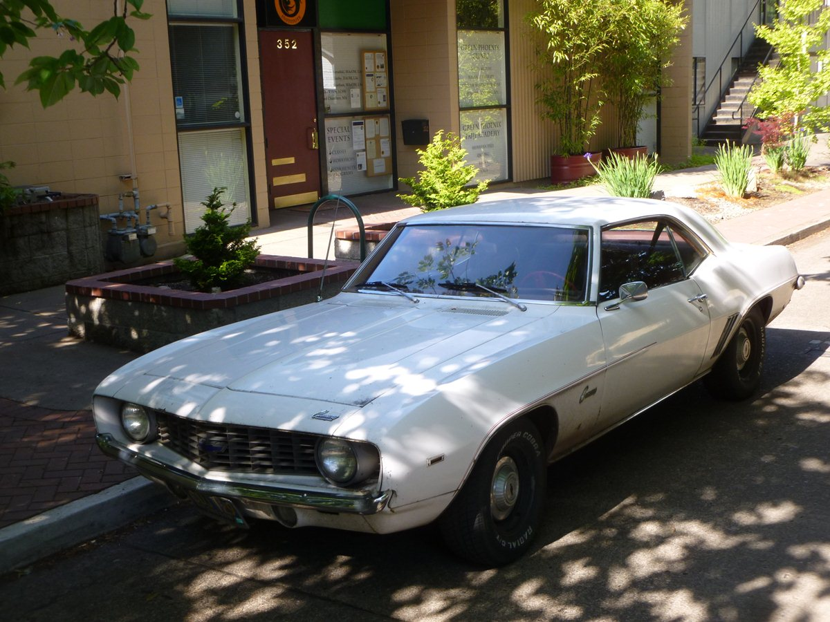 Curbside Classic: 1969 Camaro – The Last Unmolested \'69 Camaro Six ...