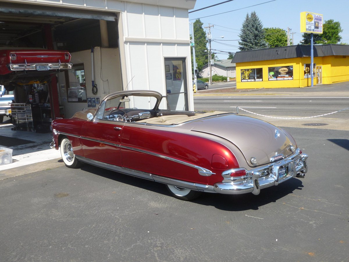 CC Capsule Hudson Hornet Convertible The Mae West Of Cars In