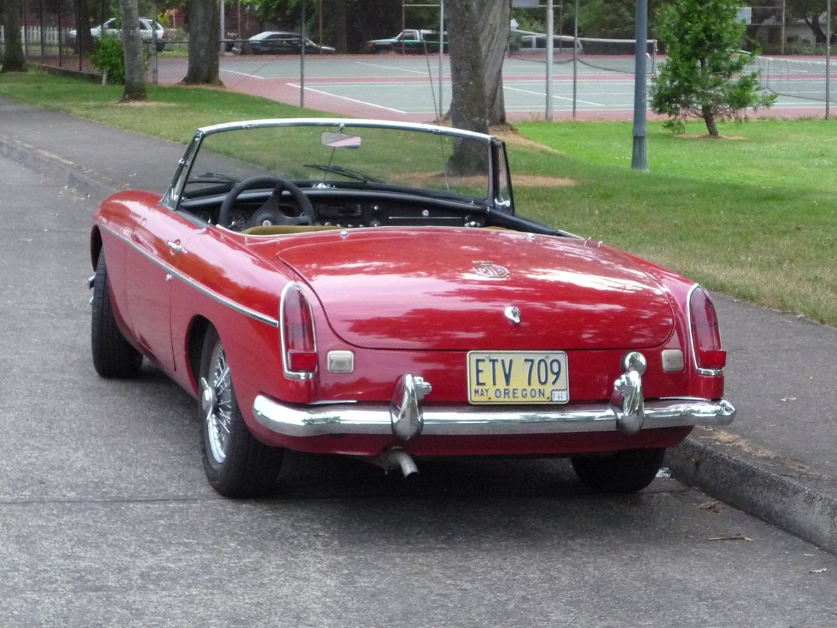 Curbside Classic: 1967 MGB – To B Or Not To B