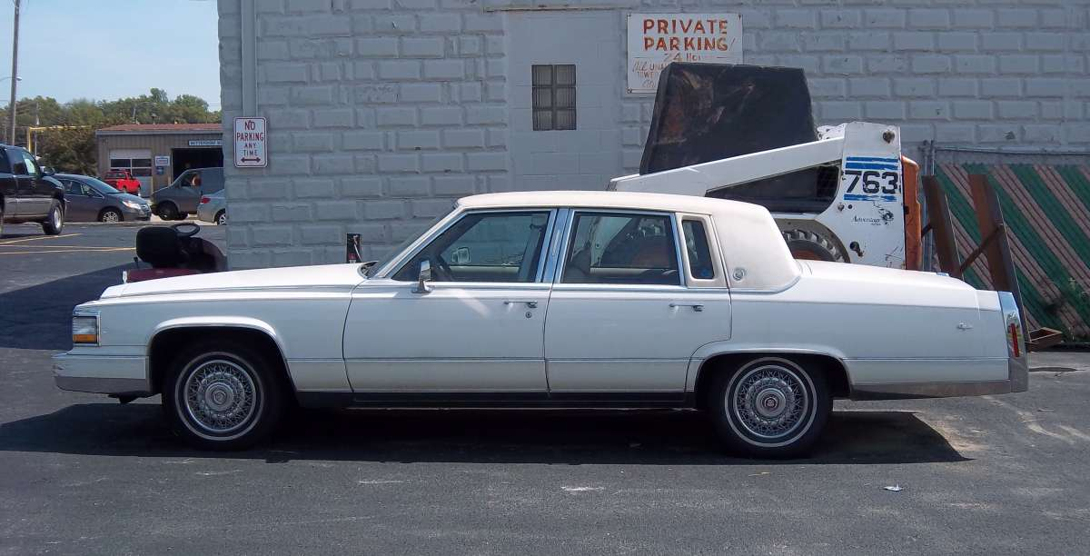 Curbside Classic: 1992 Cadillac Brougham U2013 The Only Way To Travel Is  Cadillac Style