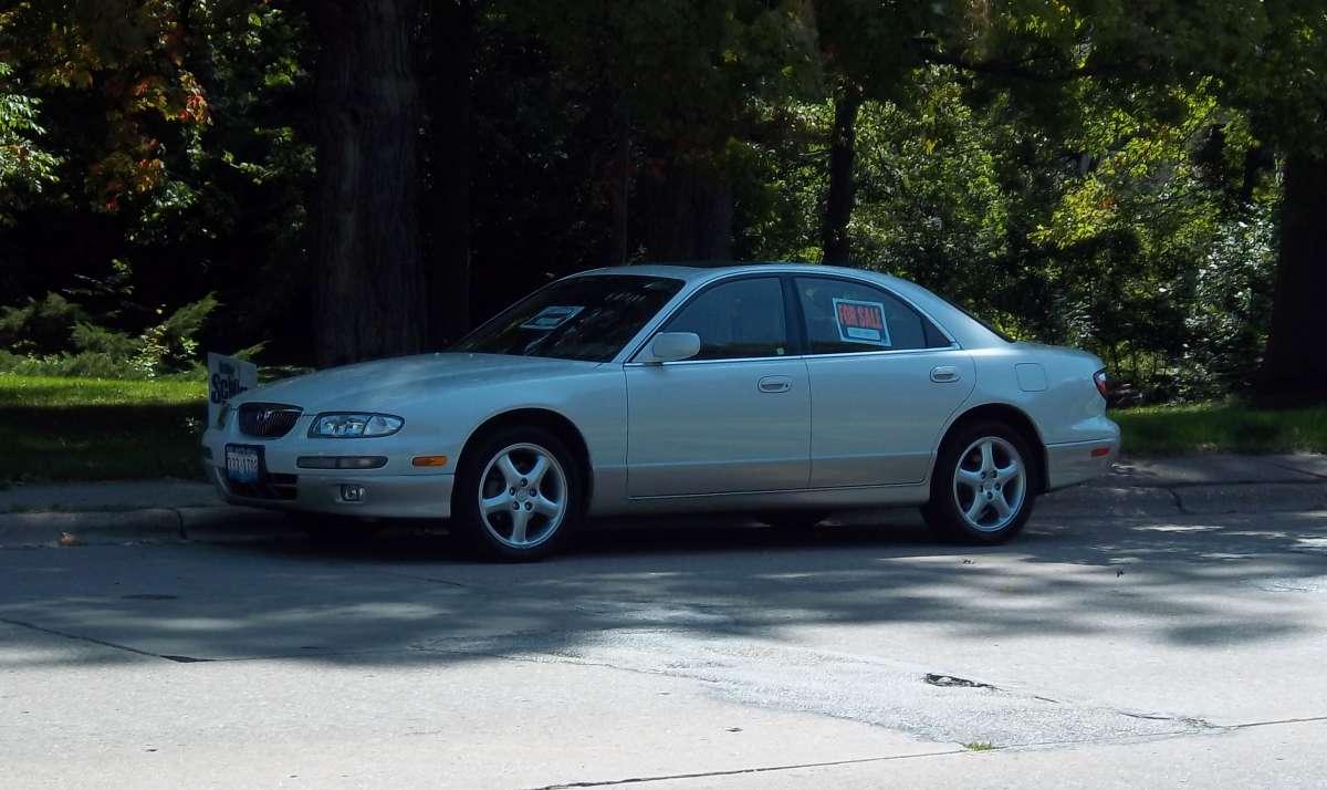 Curbside classic 2000 mazda millenia s identity crisis for Mercedes benz millenia