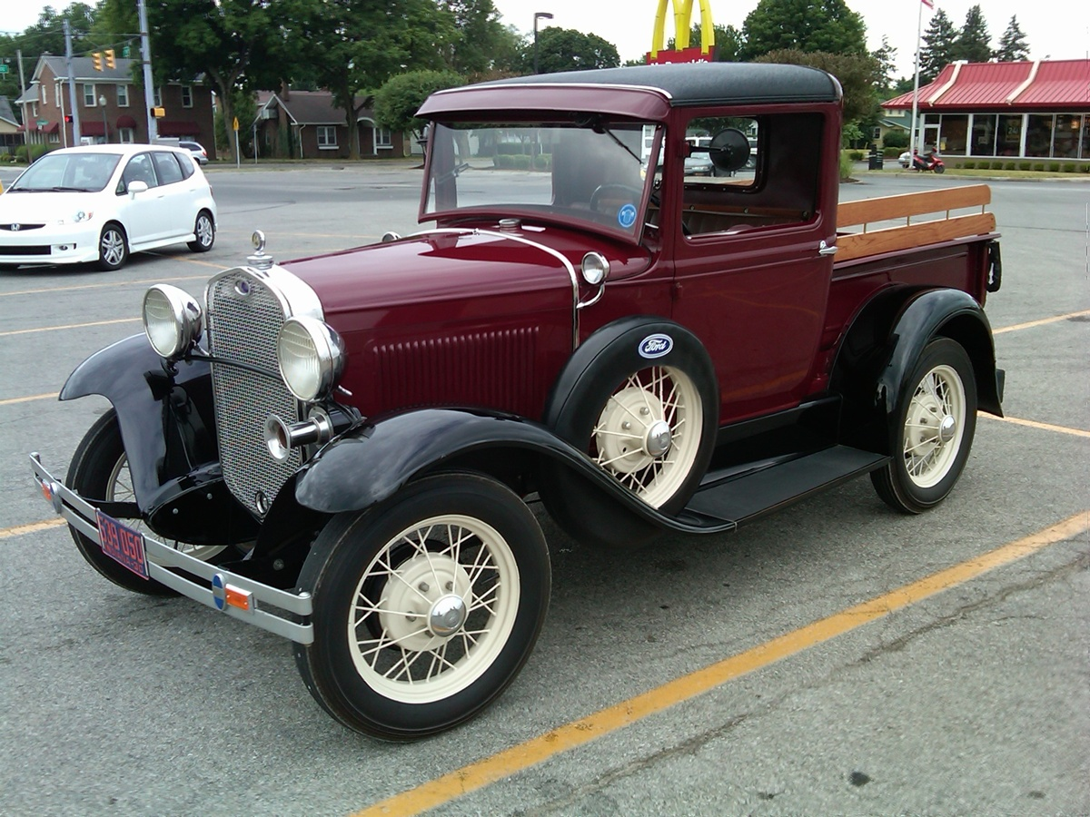 curbside classic 1930 ford model a pickup the modern. Black Bedroom Furniture Sets. Home Design Ideas