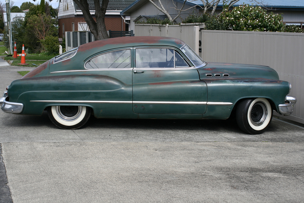 Image gallery 1951 buick fastback for 1951 buick special 4 door
