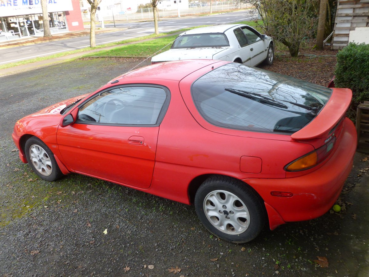 Curbside Classic 1992 Mazda MX 3 GS Smallest Production V6 Engine Ever