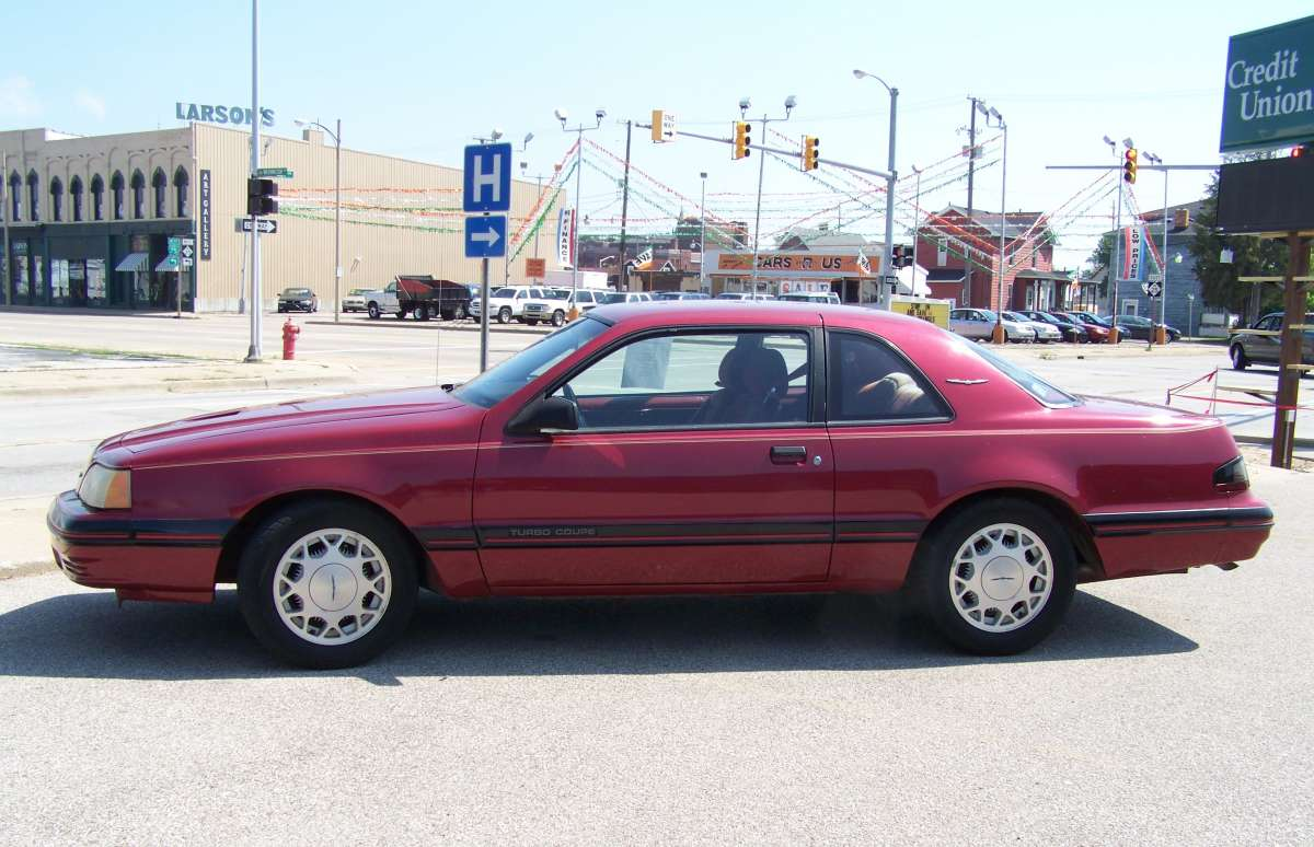 Curbside Classic: 1988 Ford Thunderbird Turbo Coupe – Ask And You Shall  Receive