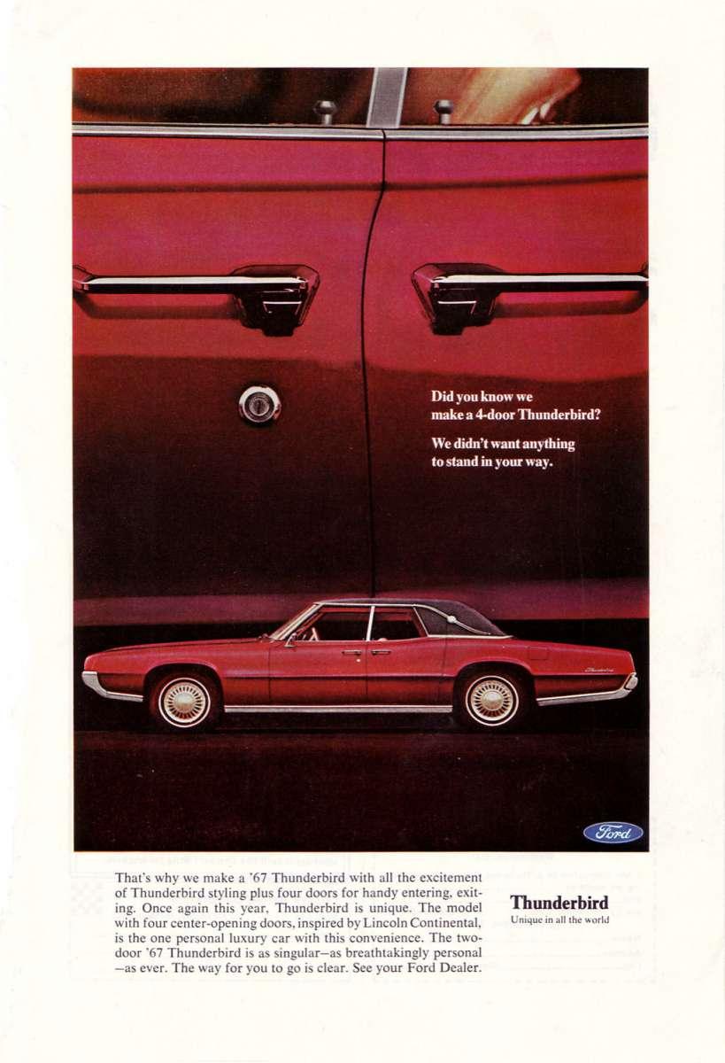 Curbside Classic 1971 Ford Thunderbird Four Door Landau Yes I Said Doors