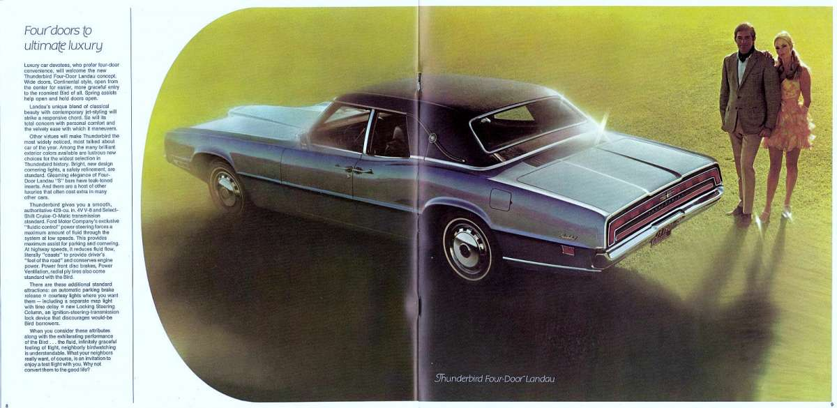 While ... & Curbside Classic: 1971 Ford Thunderbird Four Door Landau \u2013 Yes I ... Pezcame.Com