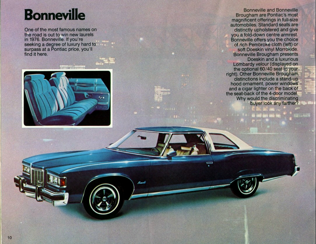 Curbside Classic: 1979 Pontiac Bonneville Brougham Coupe – Who Needs ...