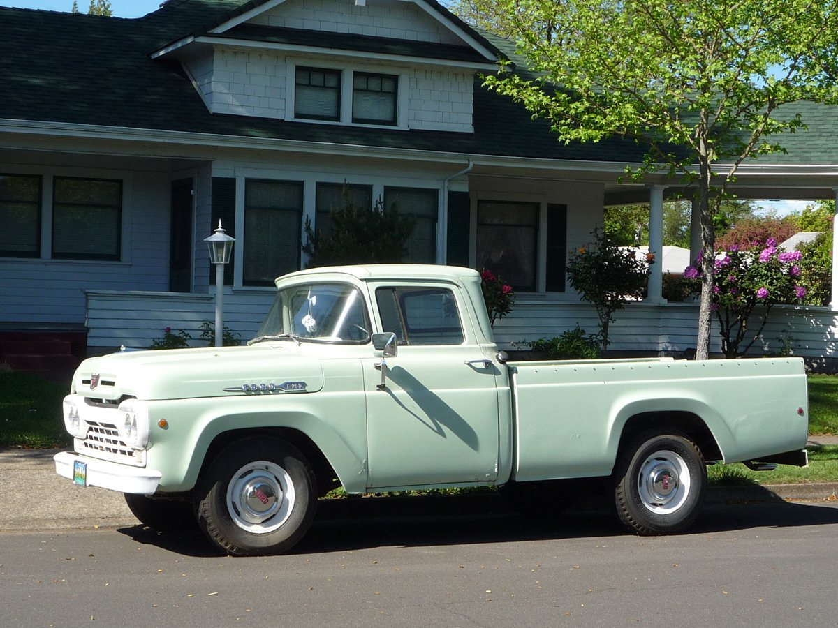 Curbside Classic: 1960 Ford F-250 Styleside – The Tonka Truck Truck