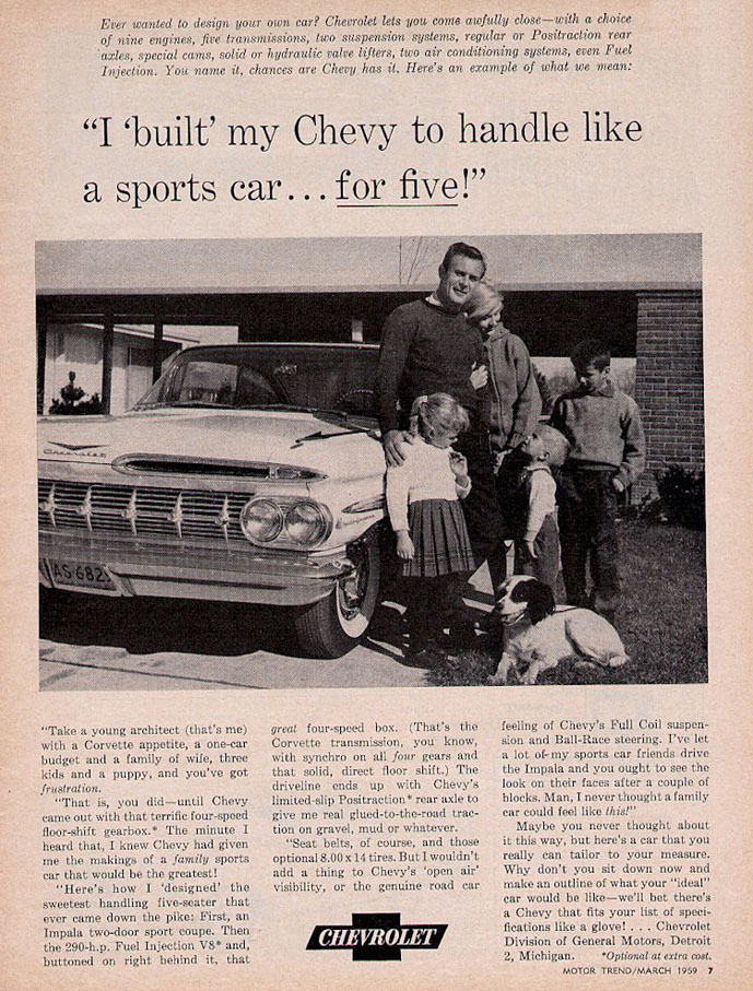 1958 Chevrolet Fuel Injection Service Training Manual Corvette ...