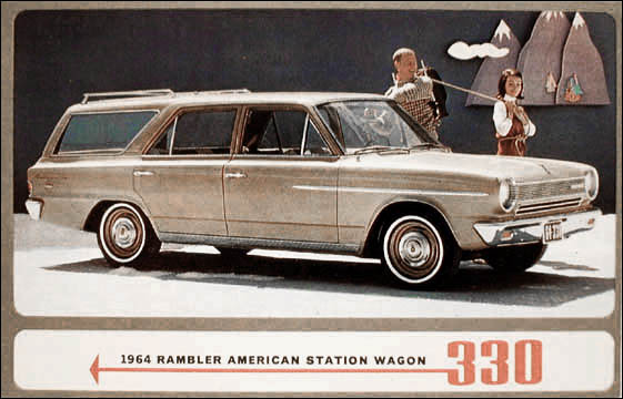 rambler american 1964 wagon. Black Bedroom Furniture Sets. Home Design Ideas