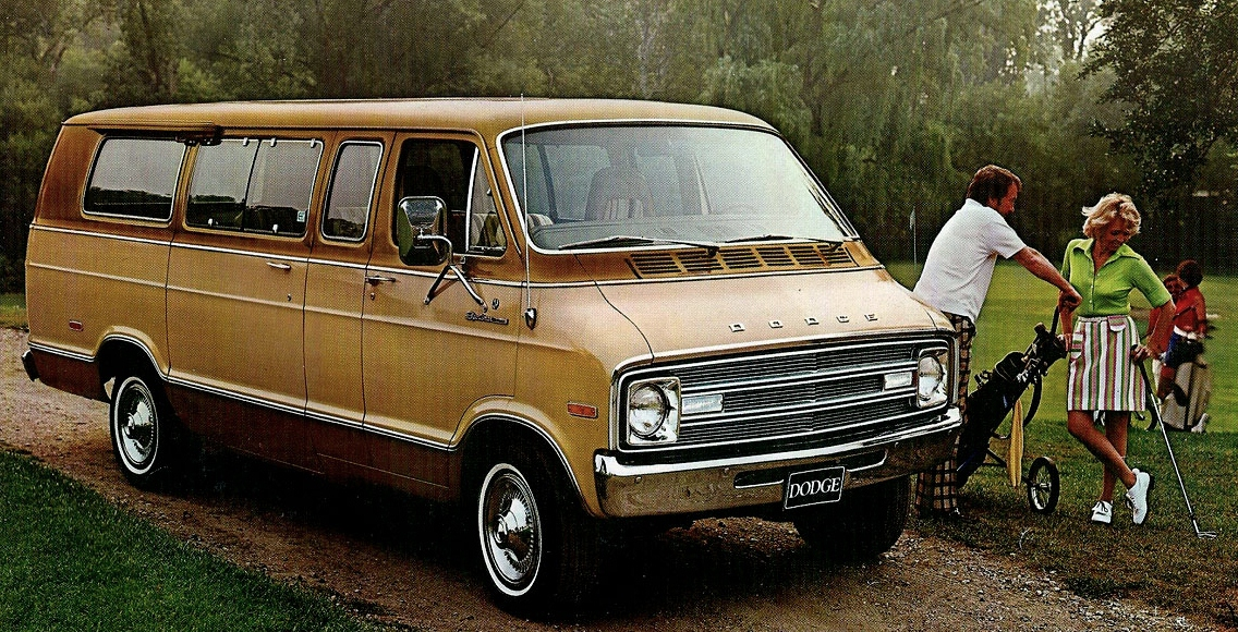 Curbside Classic 1979 Dodge B100 Van Is It The Real Thing on dodge b100 van