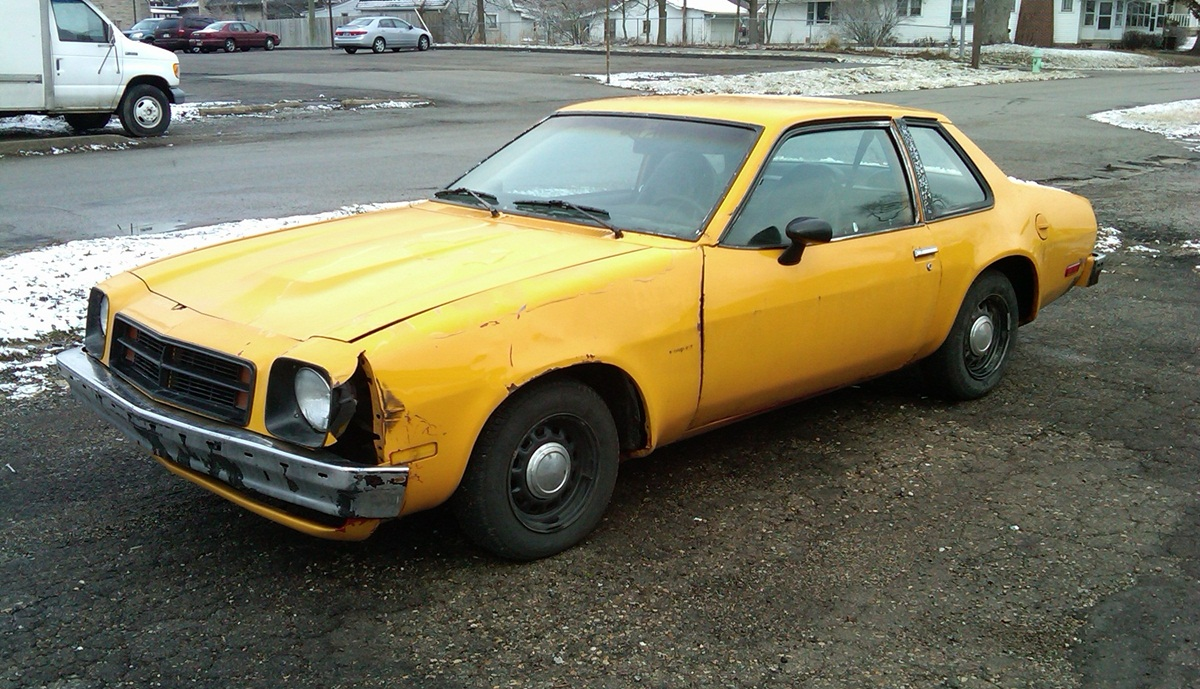 Curbside Classic  1979    Chevrolet       Monza    Coupe        Vega    II or