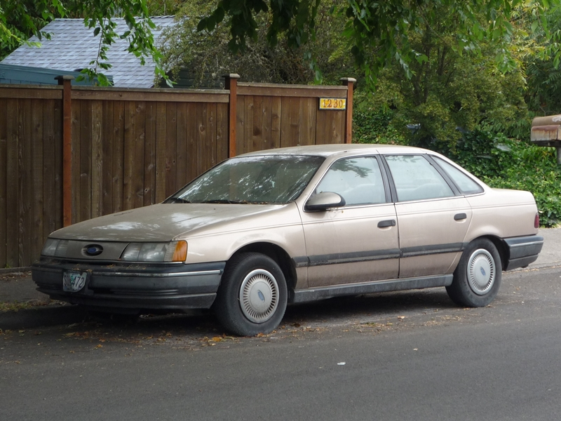Curbside Classic  Ford Taurus Mercury Sable At This Moment You Mean Everything