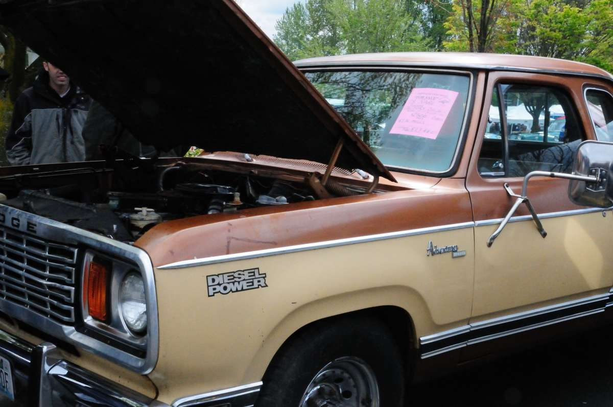 Automotive History The Case Of Very Rare 1978 Dodge Diesel 05 Fuel Filter Housing Pickup And Missing Van