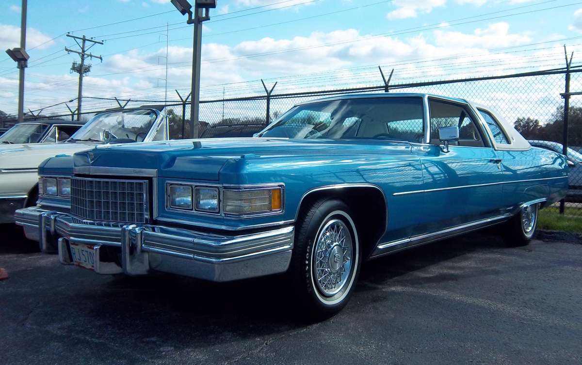 1974 Cadillac Eldorado In Houston Tx: Craigslist Classic: Ever Seen This Top On A '75 Bonnie?