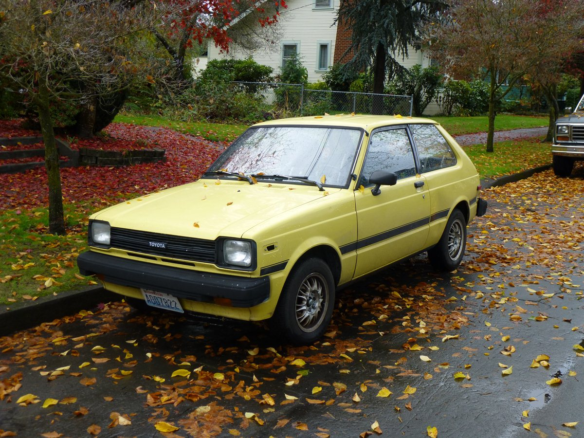 Curbside Classic: 1981 Toyota Starlet –The Last Of The Littlest ...