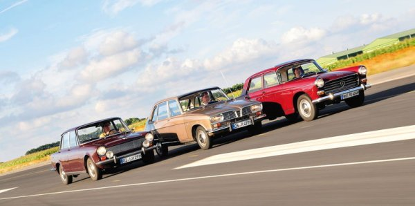 Renault 16 and 404 and Simca 1500