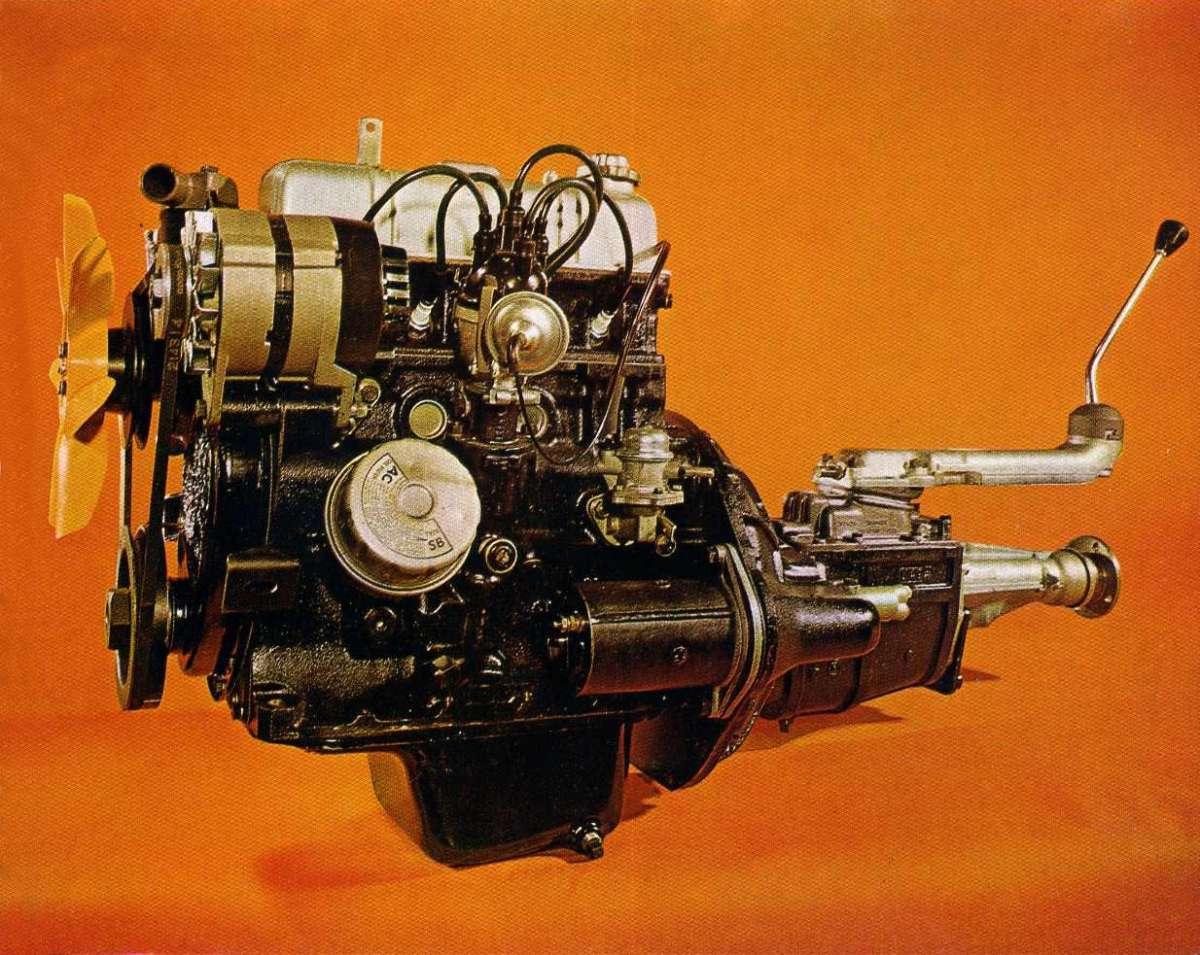 1296cc Engine