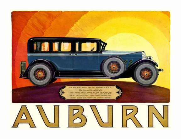 1927 Auburn Ad