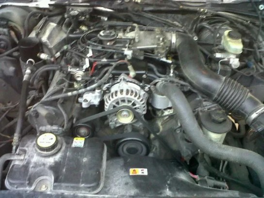 Engine History The Ford 4 6 Liter V8 on intake air temp sensor location 01 mustang v6