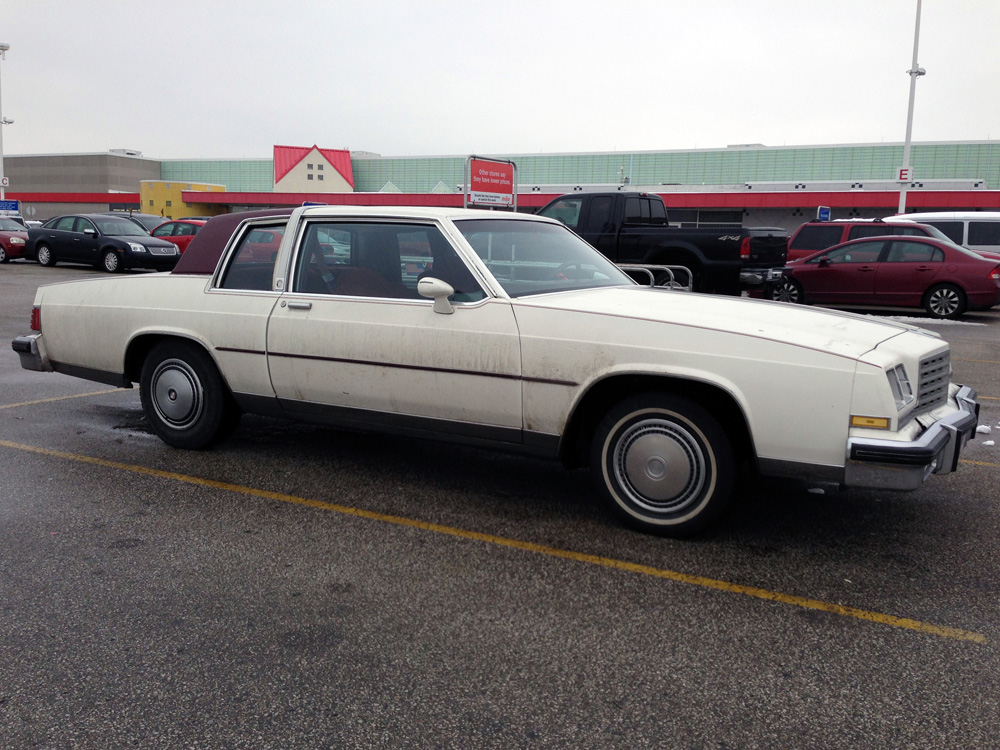 Cc Capsule 1981 Buick Lesabre Coupe Overdressed For The Occasion Curbside Classic